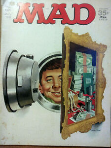Mad Magazine no. 120 vintage 1968