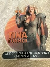 "Tina Turner We Don'T Need Another Hero 12"" Vinyl Shaped Picture Disc 1985"