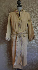 Missoni Robe - Astra Medium Hooded Bath Robe - Linen Color with Embroidered Trim