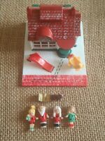 Vintage Polly Pocket Bluebird 1993 Christmas Toy Shop House Complete N1