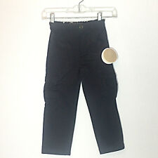 NWT Egg Baby Boys Gray Cargo Pant With Adjustable Waist Size 5