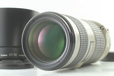 [MINT] Canon EF 70-200mm f4 L IS USM ULTRASONIC AF Lens w/ ET-74 HOOD from JAPAN