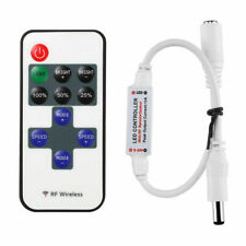 5V-24V Wire RF Wireless Remote Switch Controller Dimmer for Mini LED Light