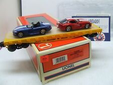 O-Gauge - Lionel - Flatcar with (2) Dodge Vipers
