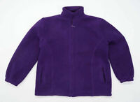 Pure & Natural Mens Size M Fleece Purple Midweight Jacket