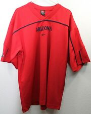 "UNIVERSITY OF ARIZONA WILDCATS BASKETBALL NIKE WARM UP PULLOVER L XL 48"" 48 EUC"