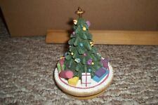 OUR AMERICA CANDLE TOPPERS TREE STAR WITH ORNAMENTS GIFTS BALL CHRISTMAS DECOR