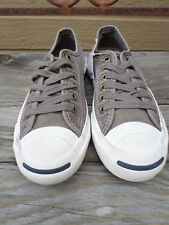 Converse Jack Purcell Low Ox Morel/Egret Canvas Sneakers Men's 3  Women's 4.5