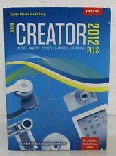 NEW SEALED ~ Roxio Creator 2012 Plus