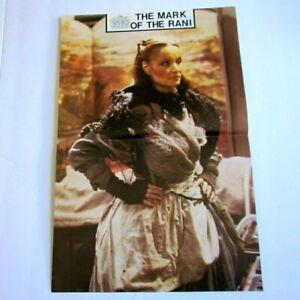 1985 DR.WHO Poster - The Mark Of The Rani - Kate O'Mara