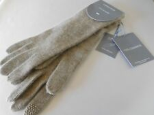 New Hannah Rose 100% Cashmere Smart Phone Gloves - OS