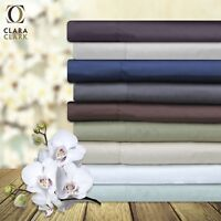 100% Bamboo 4 Piece Deep Pocket Bed Sheet Set