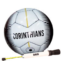 Soccer Ball Corinthians 20 With Pump Size N2 & N5 Material PVC for Kids & Adults