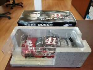 Rare 2015 Kurt Busch #41 Haas Automation Chrome 1:24 NASCAR Action MIB #39/120