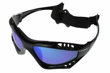 Jetski Sunglasses Polarized Water Sport Surf Fishing Boating Case Blue Mir 603