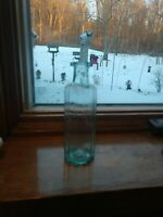 Very RARE Open Pondle Early 1800 POSSIBLY BITTERS Bottle