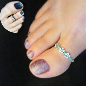 Finger Beach Barefoot Jewelry Celebrity Rhinestone Women Toe Ring Girl Foot