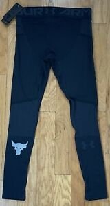 Under Armour Project Rock Seamless Leggings/Pants 1353077-001, Men's Large, NWT