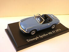 Triumph Spitfire MKIV in Blue 1974 1/43rd scale