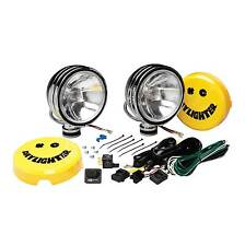 """KC Hilites 130W 6"""" Rally/4x4 Daylighters Spot Light Drive Lamps In Chrome"""