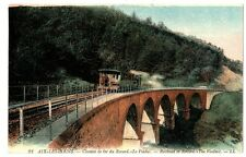 CPA 73 Savoie Chemin de fer du Revard Le Viaduc train