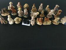 Vintage Wade Porcelain Nursery Rhyme Figurines Complete Set of 24