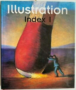 1995 1st ILLUSTRATION INDEX I, Peter Feierabend, w 445 PLATES, FREE post Aust