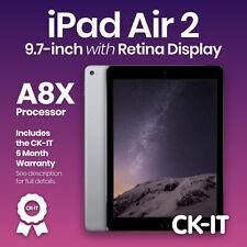 "Apple iPad Air 2 Retina 16GB Wi-Fi 9.7"" / Space Grey / Touch iD/ Grade B ref A55"