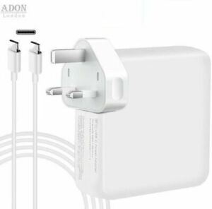 For Apple 87W 61W 30W Power Adapter Charger for Mac book Pro Air & Type-C Cable