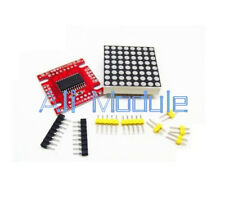 NEW Red MAX7219 Dot Matrix Module Arduino Microcontroller Module