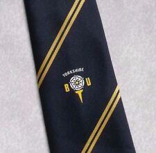 Vintage GOLF Tie Mens Necktie Retro Sport GOLFING CLUB YORKSHIRE