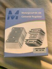 Meccanixity Waterproof DC-DC Converter Regulator 48V-12V 10A
