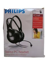 Philips PC VOIP Stereo PC Headset SHM 1900 With Microphone