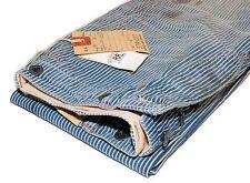 Polo Ralph Lauren Double RL RRL Mens Railroad Vintage Stripe Jean Pants 28/34