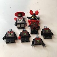 Lego Lot Ninjago Stone Army MInifigures Warrior Scout Weapon's Rare Ninja