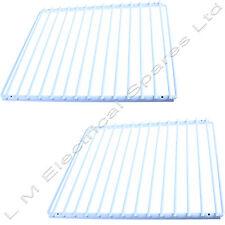 2 X Universel Réglable Extensible couché plastique Réfrigérateur Congélateur étagère de racks