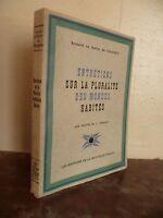 B. El Bovier F. Entrevistas Pluralidad Mundos Habites Madera Graves Ferrand 1945