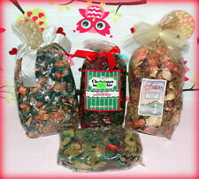 Lot of 4 Variety Bags of Potpourri & A Peach Glass Air Freshener *New*