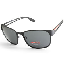 a49e35ed16 PRADA Linea ROSSA PS 52ts Dg05s0 Matte Black grey Men s Metal Sport  Sunglasses