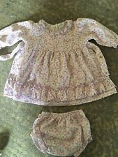 Kissy Kissy Adorable Dress w/Bloomers (3-6 months)