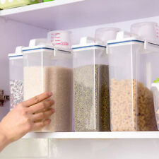 2KG Cereal Dispenser Storage Box Kitchen Food Storage Grain Rice Container