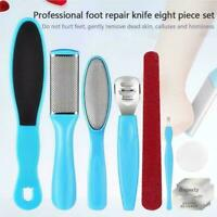8 x Pedicure Kit Rasp Foot File Callus Remover Scraper Care SET Nail Tool A8A6