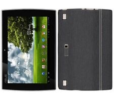 Skinomi Brushed Steel Tablet Skin+Screen Protector for Asus EEE Pad Slider SL101