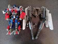 Transformers Dark of the Moon Leader Class Jetwing Optimus Prime Used