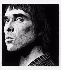 IAN BROWN THE STONE ROSES LIMITED EDITION CANVAS ART PRINT ARTIST SIGNED 20 RUN