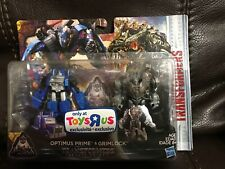 Transformers The Last Knight Legion 2Pack Optimus Prime & Grimlock TRU Exclusive