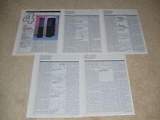 JBL L7 Speaker Review, 5 pgs, 1992, Full Test, Specs