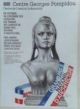 GRAND PRIX NATIONAL D'ARCHITECTURE 79 Affiche orig. ent. ASLAN (Brigitte BARDOT)