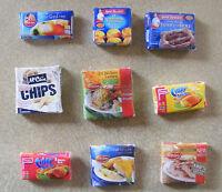 1:12 Scale Frozen Food Packet Tumdee Dolls House Miniature Kitchen Accessory