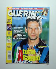 GUERIN SPORTIVO 1998- n. 32 - A TUTTO BAGGIO + I NUOVI STRANIERI